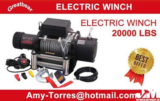 (NEW/UNUSED) ELECTRIC WINCH
