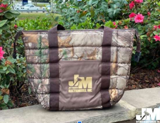 1 JMA BRANDED SOFT SIDE COOLER SELLING FOR T.A.P.S.