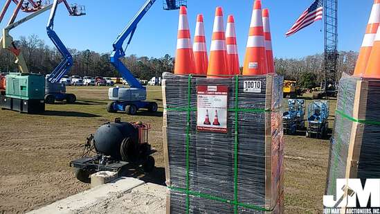 (UNUSED) 2020 QTY OF (250) HIGHWAY SAFETY CONES
