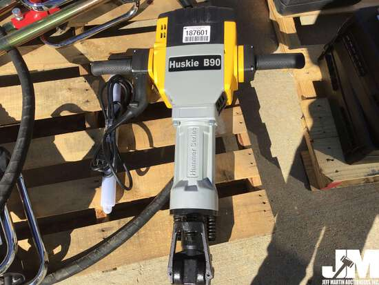 (UNUSED) HUSKIE B90 ELECTRIC DEMOLITION HAMMER