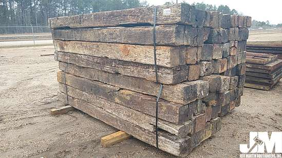 QTY OF APPROX 8' LONG RAILROAD TIES