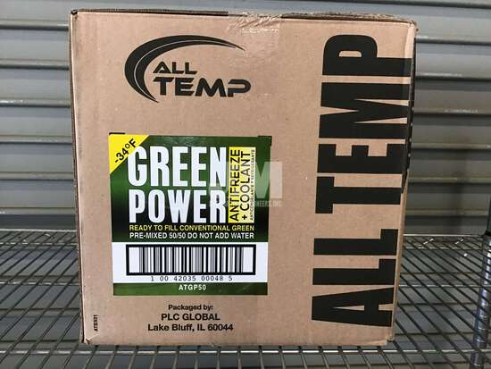(UNUSED) ALL TEMP GREEN POWER 50/50 ANTIFREEZE/COOLANT
