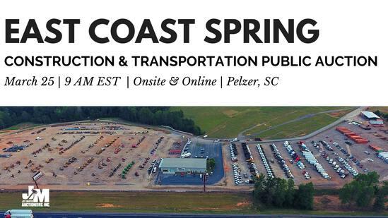 East Coast Const & Transport Public Auction Ring 1