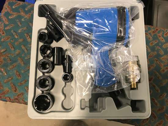 """(UNUSED) 1/2"""" DRIVE AIR IMPACT WRENCH KIT"""