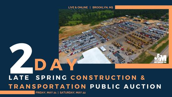 Late Spring Const & Transport Auction Day 1 Ring 1