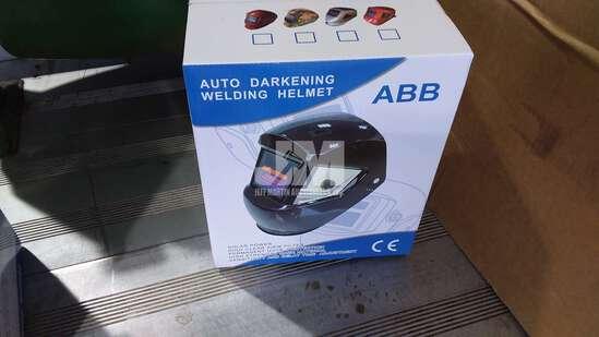 (UNUSED) AUTO DARKENING WELDING HELMET