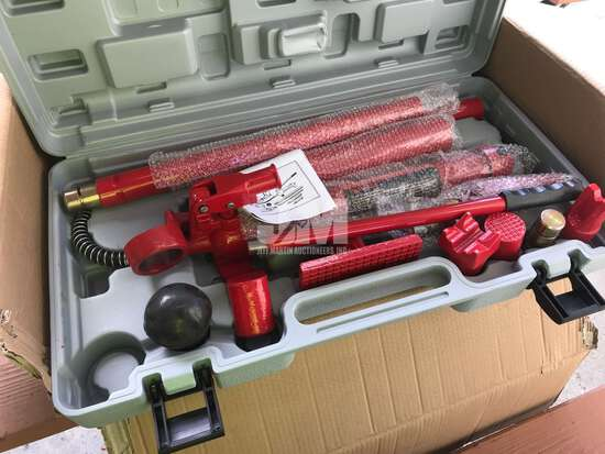(UNUSED) HYDRAULIC 10 TON BODY FRAME REPAIR KIT WITH CASE