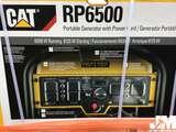 CATERPILLAR RP6500 WATTS 6500 PORTABLE GENERATOR