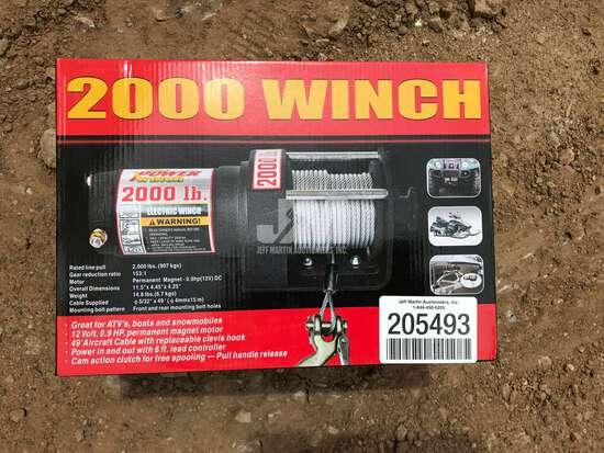 2000 LBS WINCH