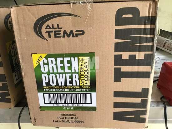 (UNUSED) ALL TEMP GREEN POWER 50/50 ANTIFREEZE/COOLANT