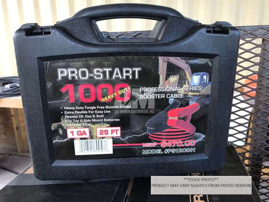 (UNUSED) PRO-START 1000 25' BOOSTER CABLES