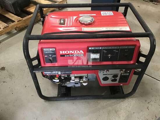 HONDA EM5000S, GAS ENGINE 120/240V