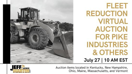 FLEET REDUCTION VIRTUAL AUCTION- PIKE IND & OTHERS