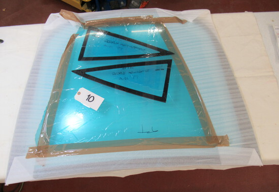 New Polycarbonate rear hatchback window and rear side windows