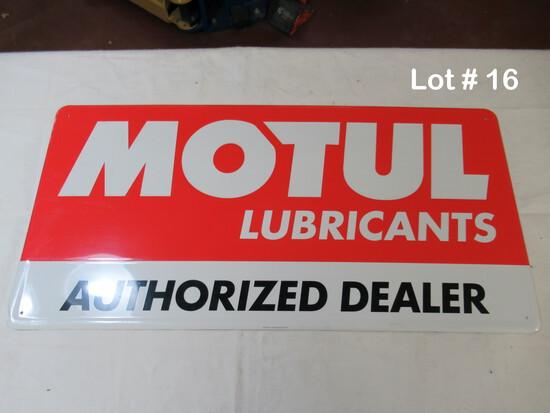Motul Lubricants sign