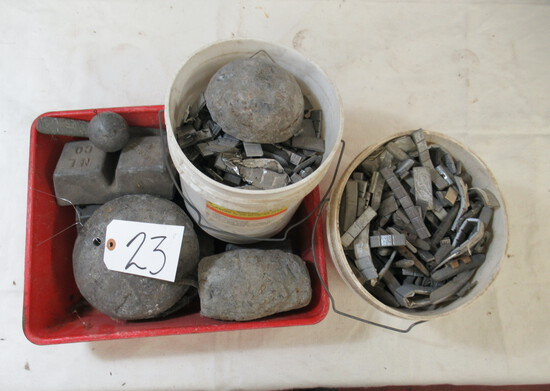 Lead weights