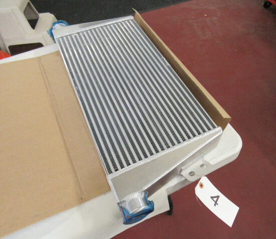 New Forge Intercooler (also alternate install)