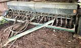 John Deere 18 hole grain drill
