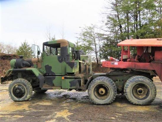 6 Wheel Drive Army Truck