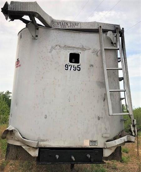 Benson Aluminum Dump Trailer