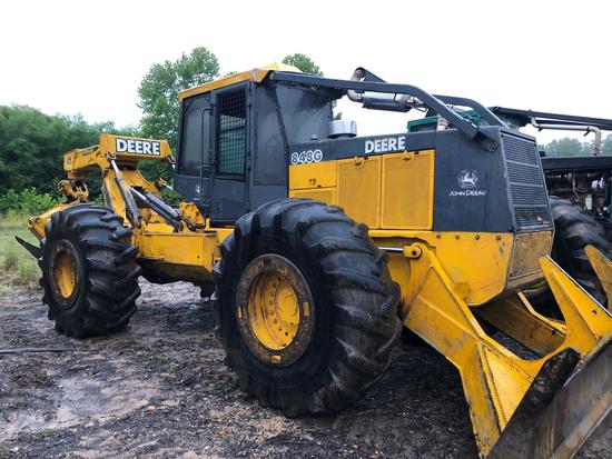 John Deere 848G Grapple Skidder