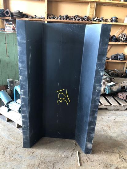 Vibrating conveyor section (fiberglass)
