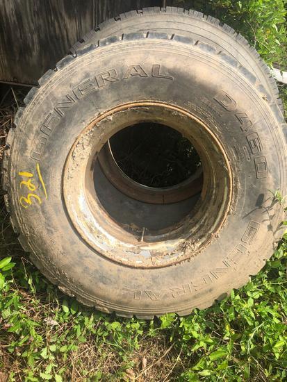 Tire & rim