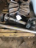 Log feed wheel
