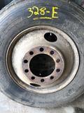 New recap tire & rim