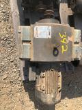 Electric motor with adjustable speed drive
