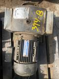 Electric motor with gear box