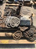 Pallet of sprocket chain