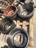 4 New Brake drums