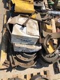 Pallet of brake parts