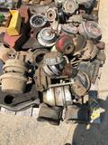 Pallet of truck & trailer parts