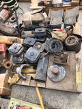 Pallet of misc. truck parts