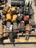 Pallet of starters and alternators.