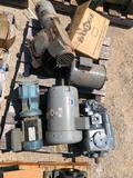 Pallet of motors and gearboxes