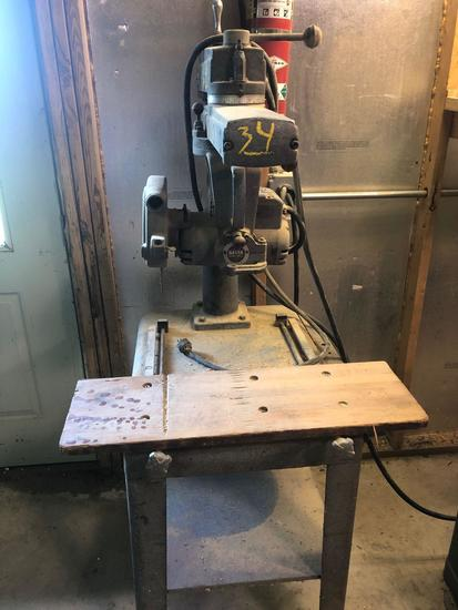 Radial armsaw