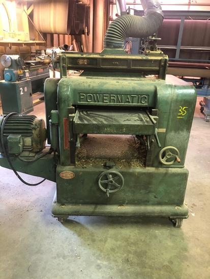 Powermatic planer