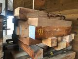 Pallet of misc pine Timbers
