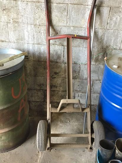 Oil drum cart