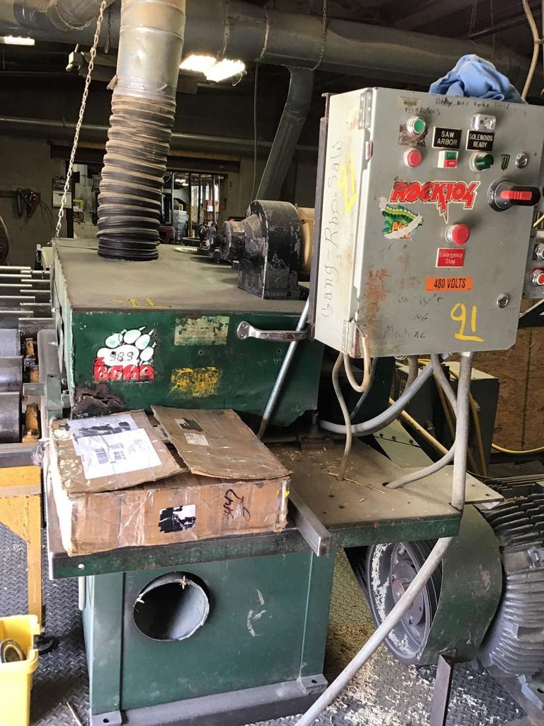 Formerly Crook Miller Sawmill Liquidation Auction