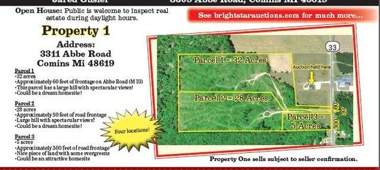 Property #1 Parcel #1 32 Acres