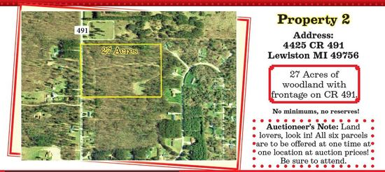 Property #2 27 Acres Woods On CR 491
