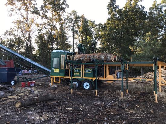 Cord King Firewood Processor