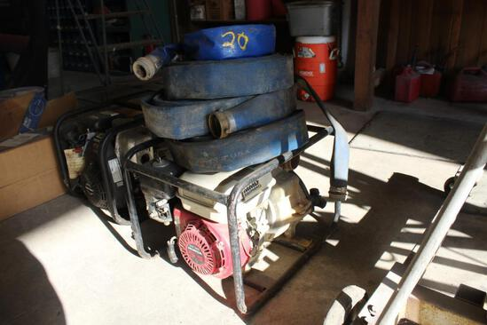 Water Pump and Hose