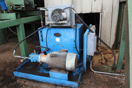 ASM 20 HP Hydraulic unit
