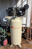 Ingersol Rand Vertical 5 HP tank mount air compressor