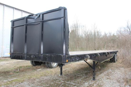 42' Flat Bed Trailer